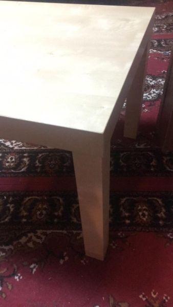 Stolik z Ikei 55 x 55