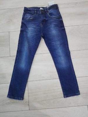 Spodnie jeansy Zara nowe 122