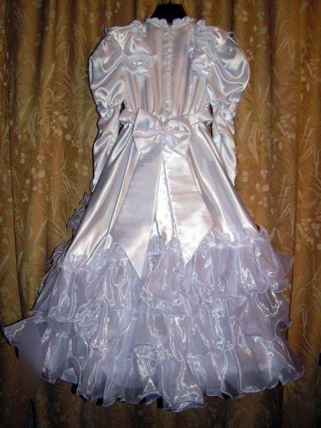 Sukienka do komunii lub dla małej druhny na wesele