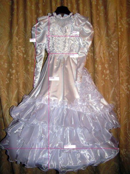 OKAZJA , PEREŁKA , Sukienka do komunii lub dla małej druhny na wesele