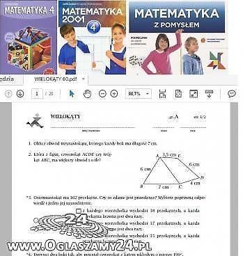 Matematyka wokół nas Matematyka z pomysłem Matematyka z kluczem TESTY