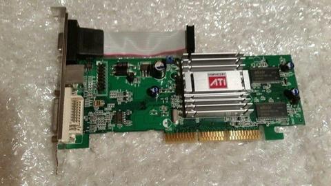 IDEALNA KARTA GRAFICZNA AGP ATI RADEON 9200SE 128MB DDR DVI - D-SUB - TV-OUT