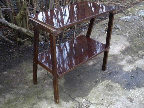 stolik pod telewizor tv stary retro prl vintage zdrowy wysyłka ładny