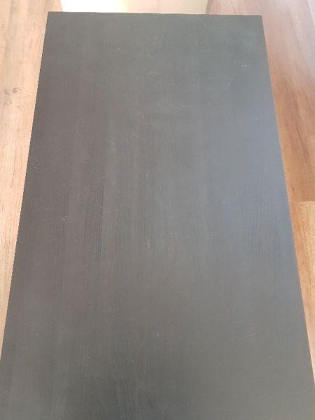 biurko Ikea - czarne