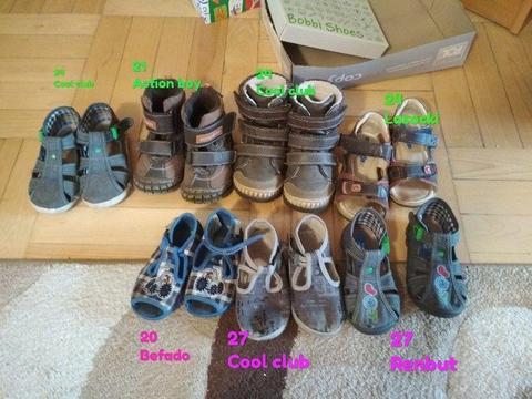 Oddam 7 par butów