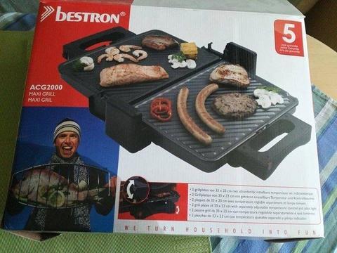 Bestron ACG 2000 opiekacz grill maxi 2000 W