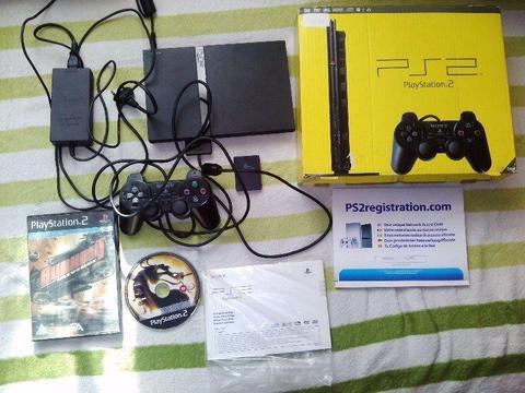 Konsola PS2 + gry