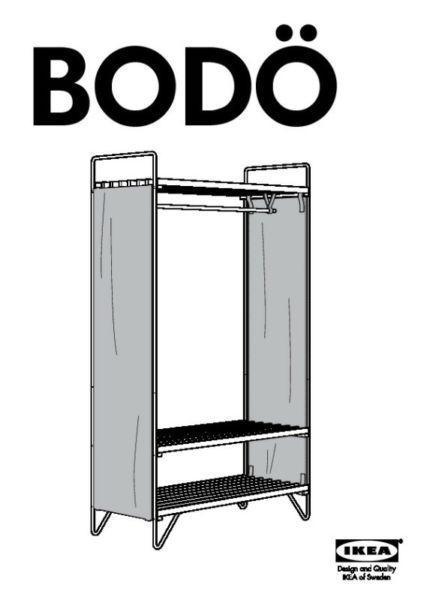 Szafa składana Ikea Bodo