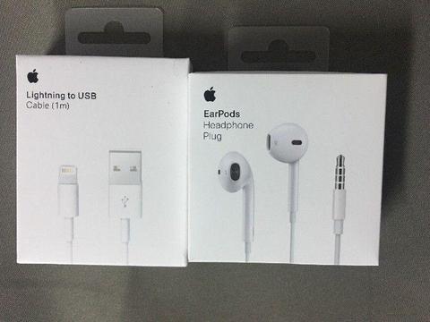 Apple EarPods iPhone - Apple 6,5,SE Słuchawki > 50 zł