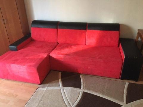 Meble uzywane - naroznik, szafa, stoliki