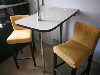 Barek kuchenny +krzesla ikea