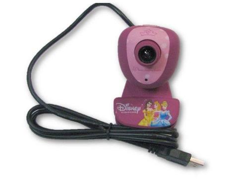 Disney Princess kamerka internetowa USB 1.3MPX