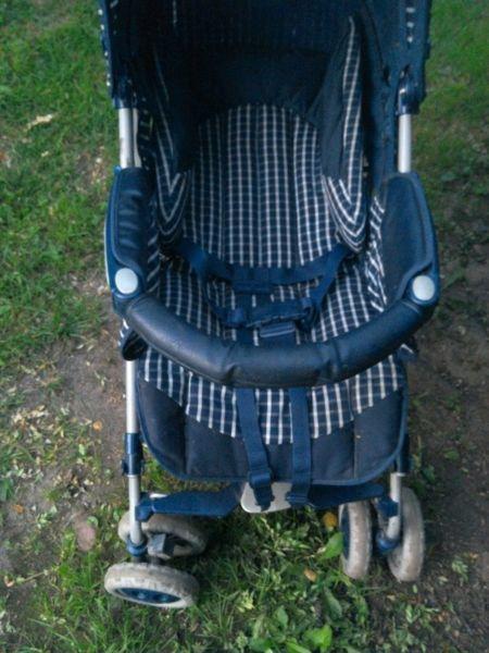 wózek dziecięcy peg - perego pliko spacerówka parasolka wysyłka sprawny