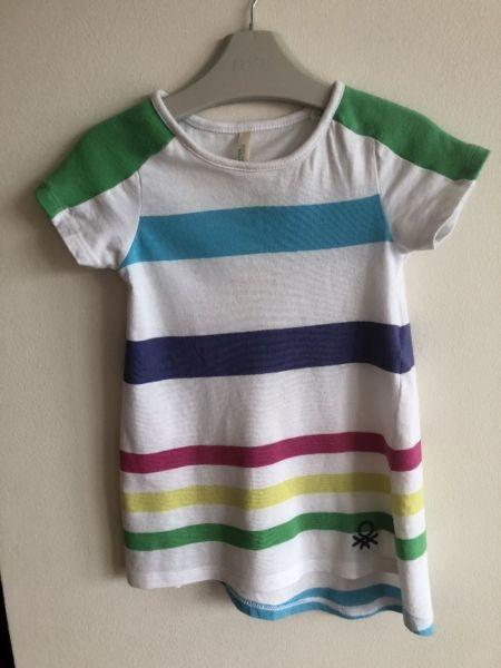 Sukienka Benetton dla dziewczynki na 1-2 latka