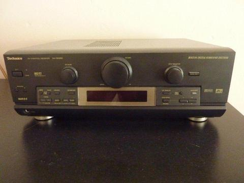 Amplituner Technics SA DX 950 kino domowe