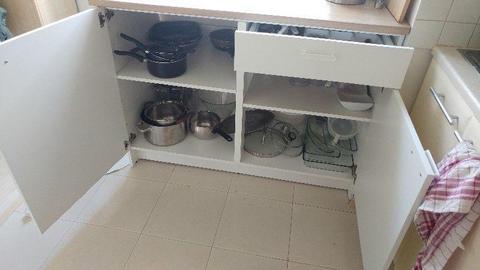 Szafka kuchenna 120cm z blatem - IKEA KNOXHULT