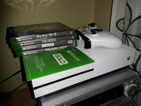 Konsola Xbox one s z grami i kontem gold zamiana