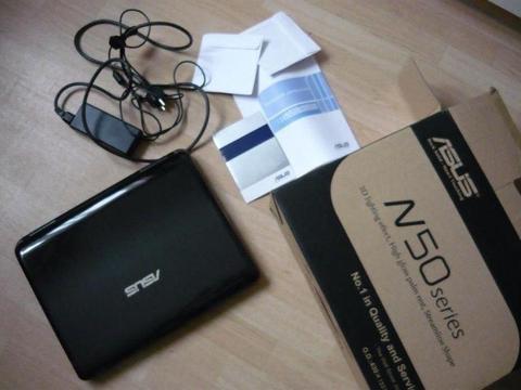 Sprzedam Laptop Notebook Asus N50Vn w idealnym stanie, w 100% sprawny, w pęłni działający, okazja