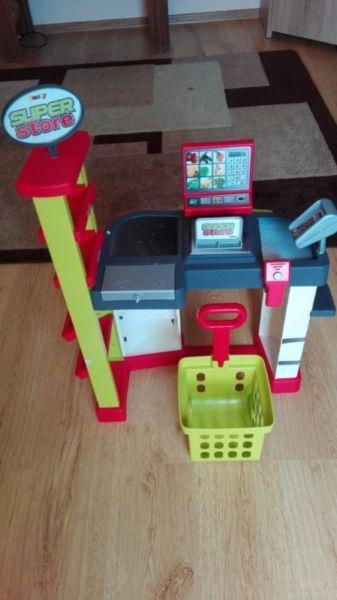 Kasa zabawka dla dziecka