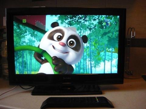 Sprawny telewizor Technika 19 cali z dekoderem dvb-t mpeg4, HDMI, USB tanio za 610zł