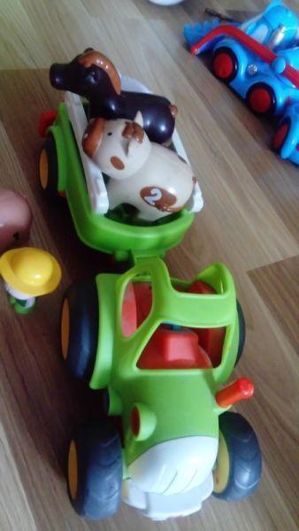 Super interaktywny traktor smiki