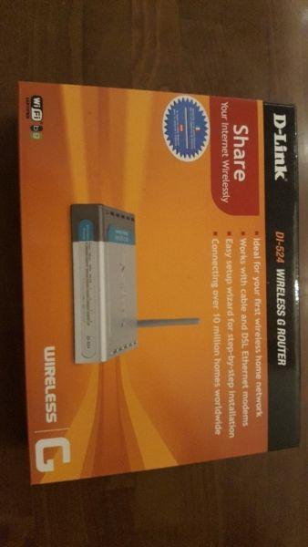 Oddam za darmo router D-Linka DI-524