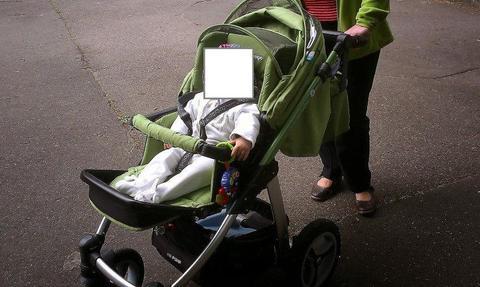 Wózek Baby design LUPO 3 w 1 (zielony) + dodatki