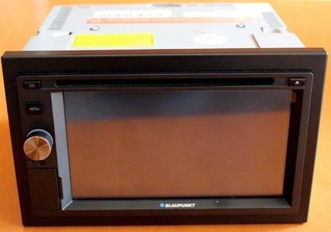 Radio Dotykowe BLAUPUNKT San Diego 530 Jak Nowe DVD Nawigacja Kamera USB 2 Din