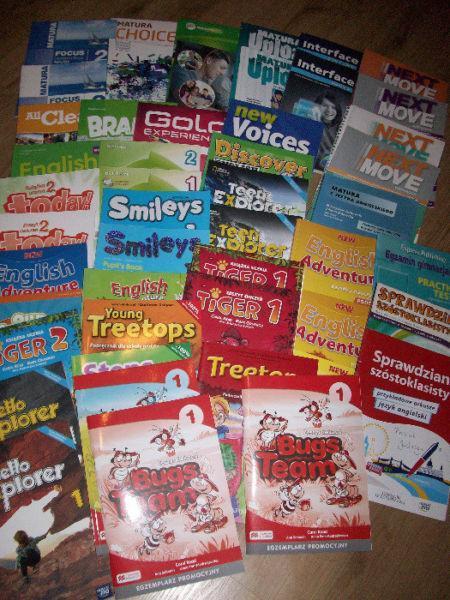 Podręczniki do języka angielskiego