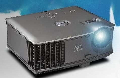 Świetny sprawny 100% rzutnik projektor multimedialny Dell 1800MP, bardo dobry stan, tanio, Warszawa