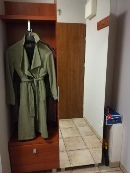 Szafa, garderoba, wyposażenie przedpokoju lub mieszkania studenckiego