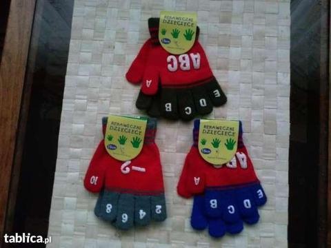 Rękawiczki dla dziecka