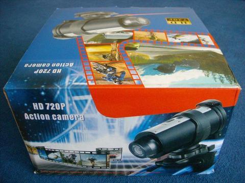 Profesjonalna Kamera Sportowa POSEJDON HD 720P