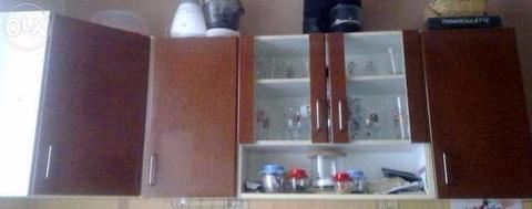 Szafka kuchenna szklana wisząca