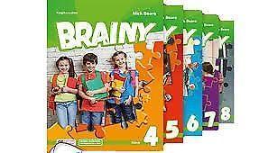 Brainy/ English class/ Flash/ Junior explorer/ New hot spot/ Steps plus/ Team up plus - testy