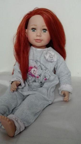 Duża lalka bobas dziewczynka manekin ubranka gratis