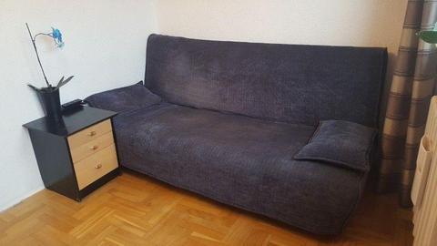 Sprzedam łóżko z IKEI z szafką gratis