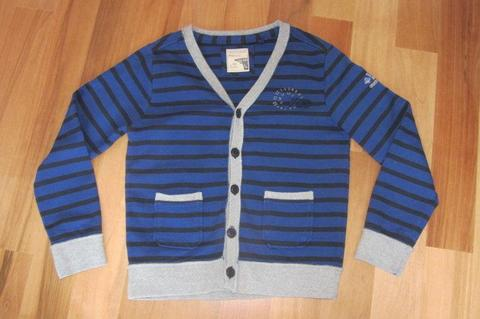 No Excess, markowa bluza, jak sweter bawełna, na guziki, 134/140,s.idealny