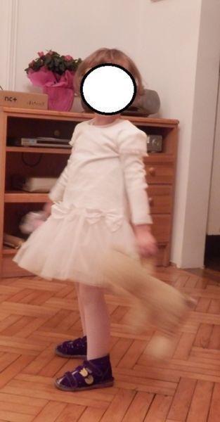 Piękna biała sukienka firmy Wójcik- z serii Ceremony w okazyjnej cenie