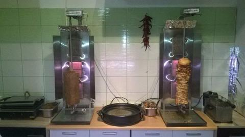 Wyposażenie baru kebab/fastfood