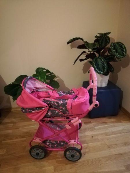 wózek dla dziecka gondola zabawka
