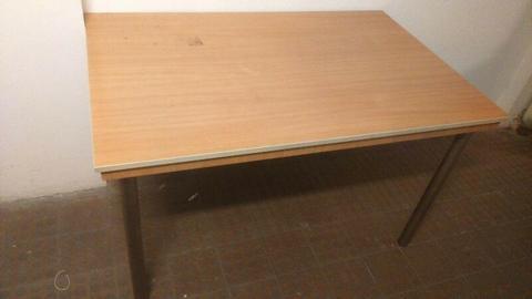 Duży Stół Biurowy 80 x 120 cm - po likwidacji szkoły angielskiego