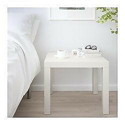 stoliczek z Ikei, biały