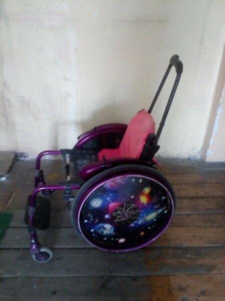 Oddam za darmo wózek inwalidzki dla dziecka
