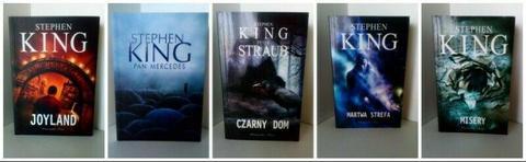 Pakiet 55 książek lub pojedynczo. Horrory, kryminały, romanse, postapo, poradniki. TANIO!