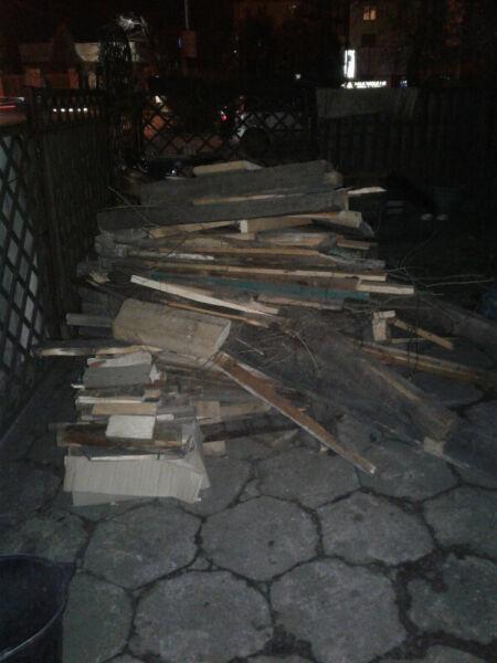 oddam za darmo drewno, deski