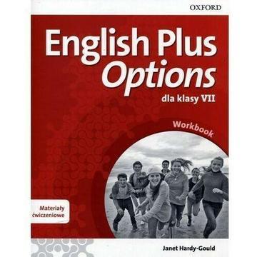 Testy, Sprawdziany English Plus Options dla klasy VII wyd.2017 OXFORD