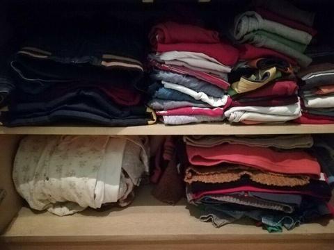 Ubranka bardzo duża ilość