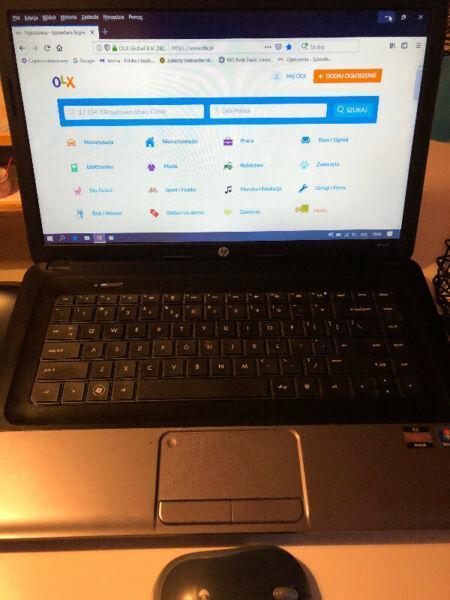 Sprzedam laptop HP 655 w bardzo dobrym stanie