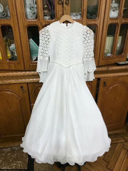 Piękna suknia komunijna - rozmiar S